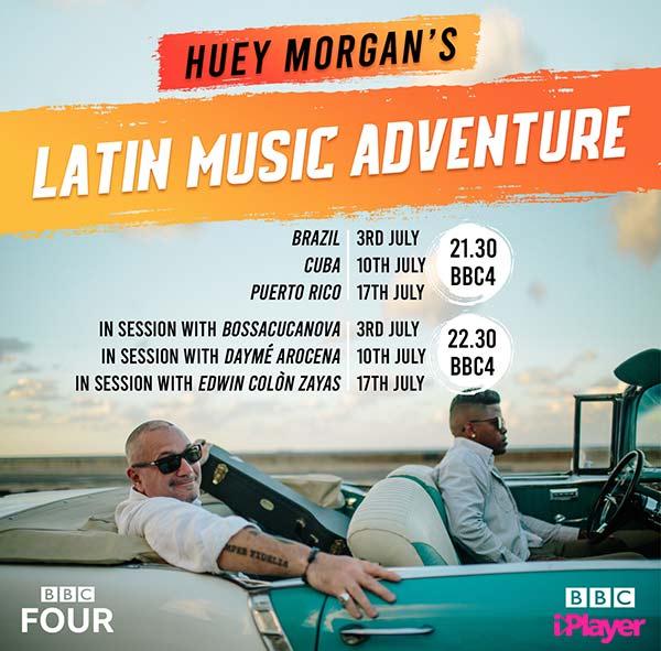 Huey Morgan Latin America BBC